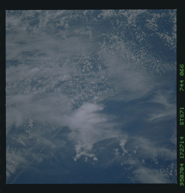 STS071-744-066 - STS-071 - Earth observations taken during STS-98