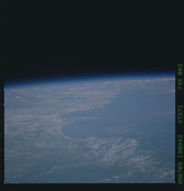 STS071-749-003 - STS-071 - Earth observations taken during STS-73
