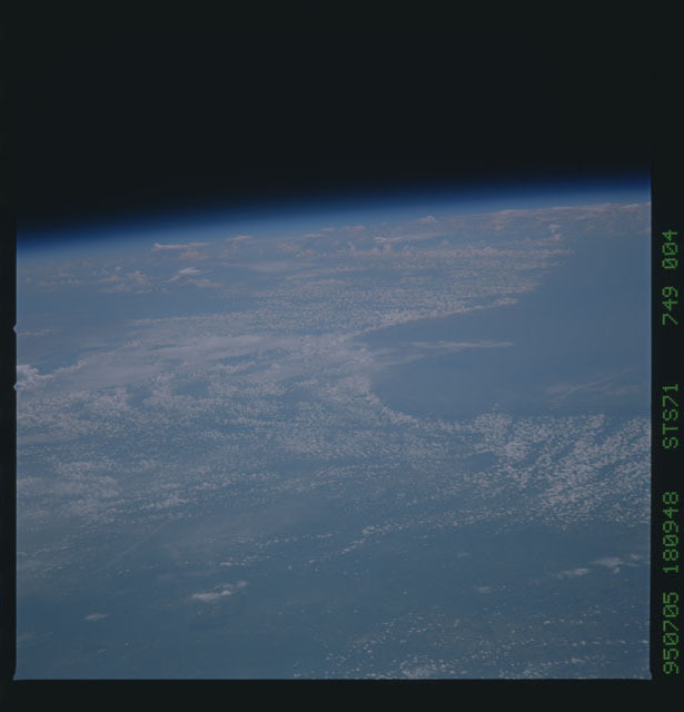 STS071-749-004 - STS-071 - Earth observations taken during STS-74
