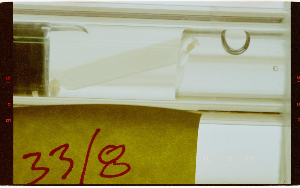 STS073-231-029 - STS-073 - CGBA experiment vials