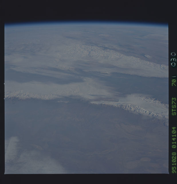 STS073-701-030 - STS-073 - Earth observations taken from shuttle orbiter Columbia