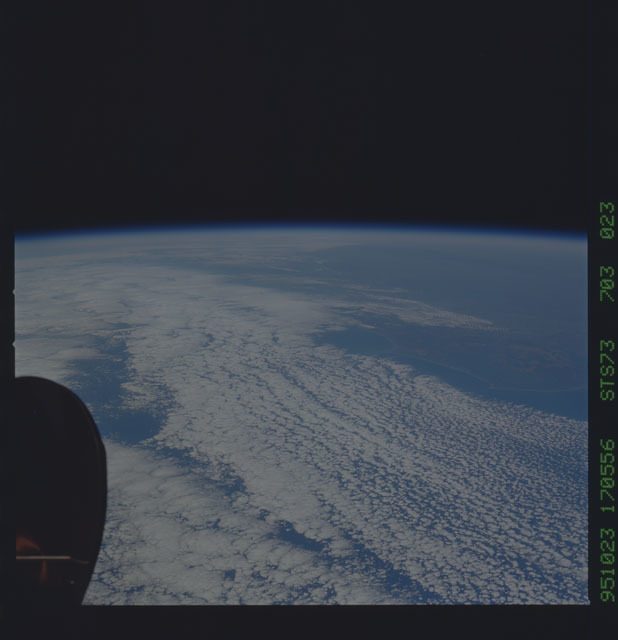 STS073-703-023 - STS-073 - Earth observations taken from shuttle orbiter Columbia