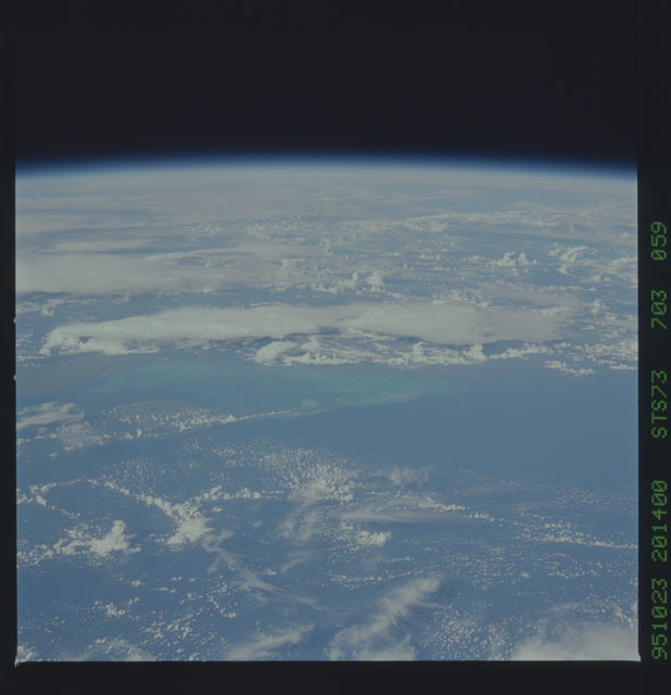 STS073-703-059 - STS-073 - Earth observations taken from shuttle orbiter Columbia