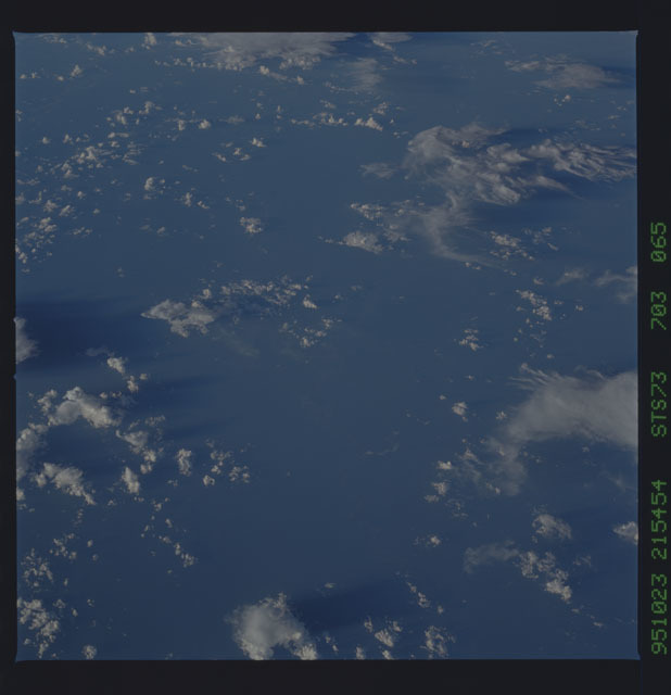 STS073-703-065 - STS-073 - Earth observations taken from shuttle orbiter Columbia