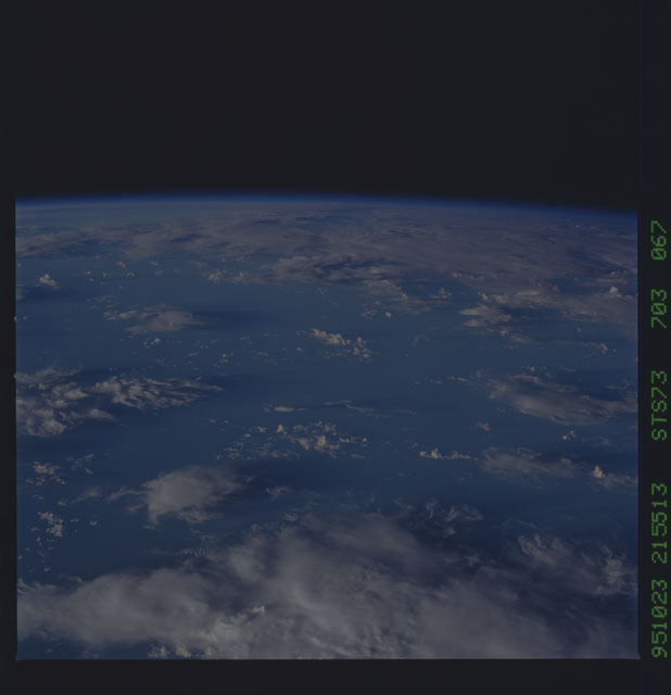 STS073-703-067 - STS-073 - Earth observations taken from shuttle orbiter Columbia