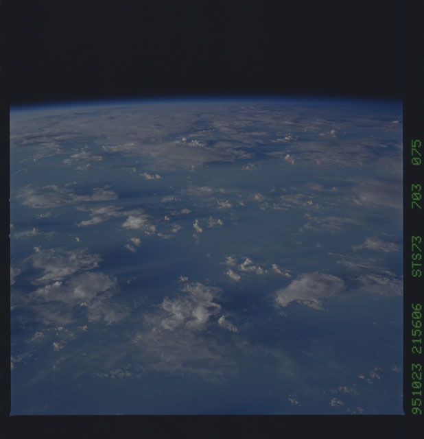 STS073-703-075 - STS-073 - Earth observations taken from shuttle orbiter Columbia