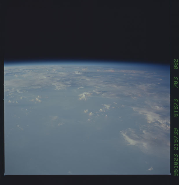 STS073-703-082 - STS-073 - Earth observations taken from shuttle orbiter Columbia