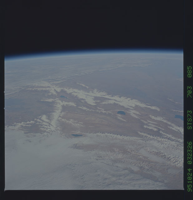 STS073-703-085 - STS-073 - Earth observations taken from shuttle orbiter Columbia