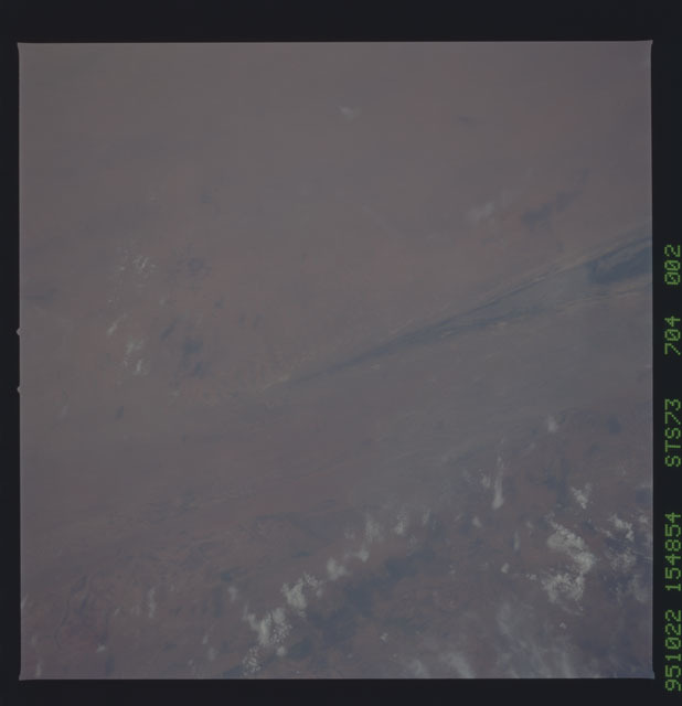 STS073-704-002 - STS-073 - Earth observations taken from shuttle orbiter Columbia