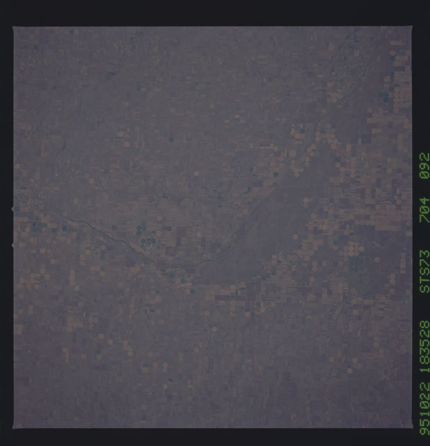 STS073-704-092 - STS-073 - Earth observations taken from shuttle orbiter Columbia