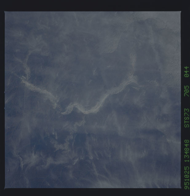 STS073-705-044 - STS-073 - Earth observations taken from shuttle orbiter Columbia