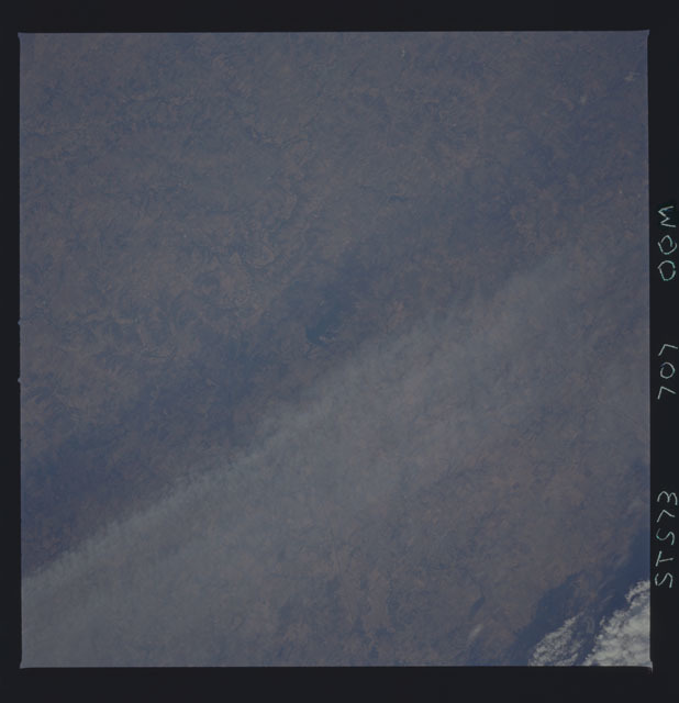 STS073-707-000M - STS-073 - Earth observations taken from shuttle orbiter Columbia