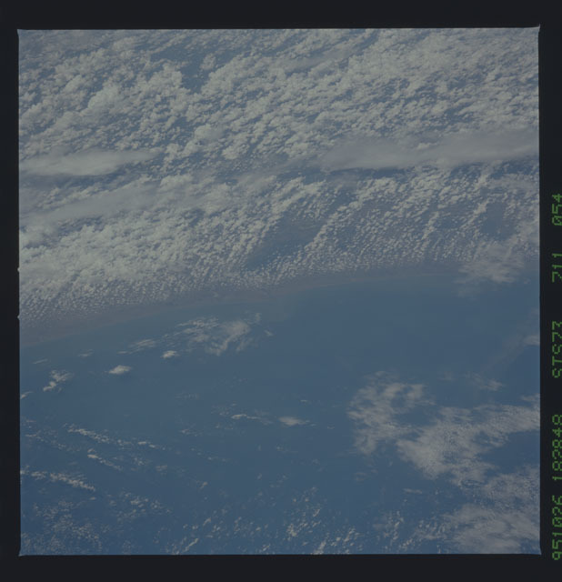 STS073-711-054 - STS-073 - Earth observations taken from shuttle orbiter Columbia