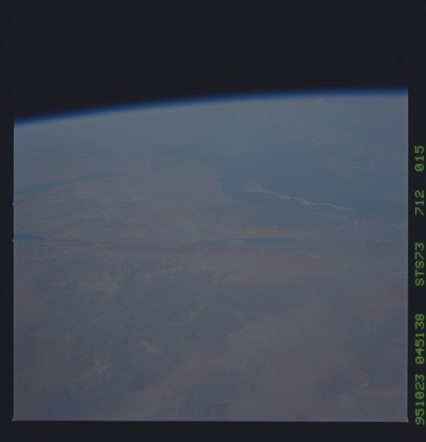 STS073-712-015 - STS-073 - Earth observations taken from shuttle orbiter Columbia