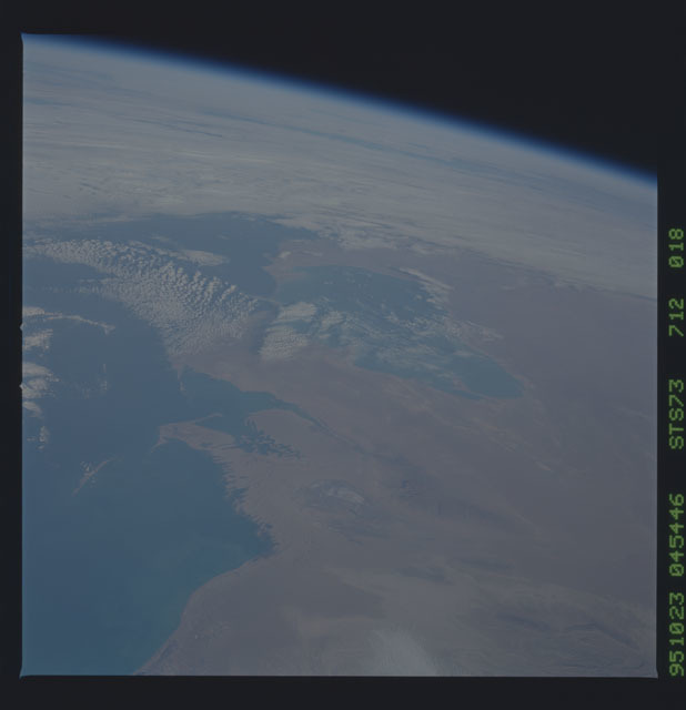 STS073-712-018 - STS-073 - Earth observations taken from shuttle orbiter Columbia