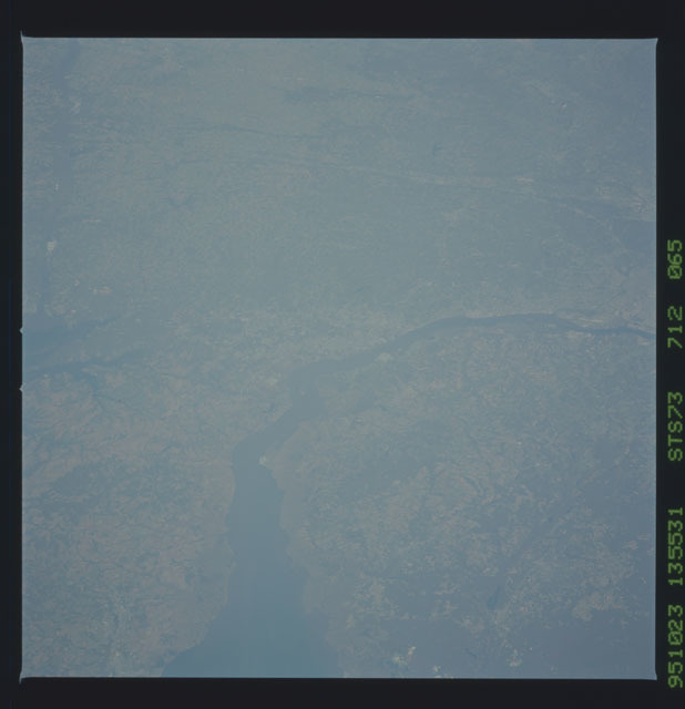 STS073-712-065 - STS-073 - Earth observations taken from shuttle orbiter Columbia