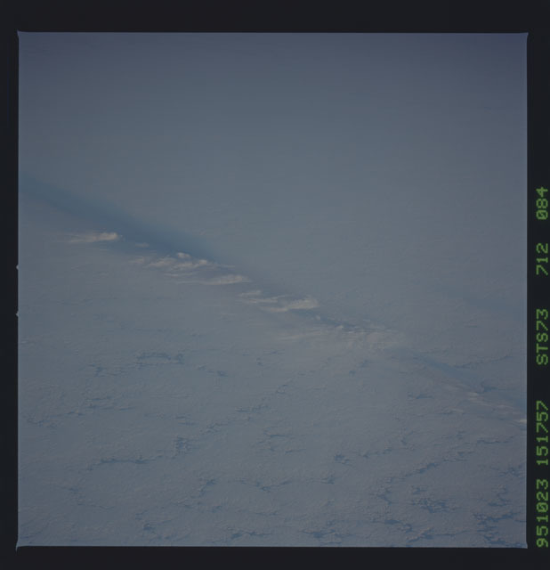 STS073-712-084 - STS-073 - Earth observations taken from shuttle orbiter Columbia