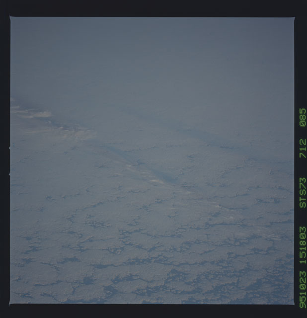 STS073-712-085 - STS-073 - Earth observations taken from shuttle orbiter Columbia