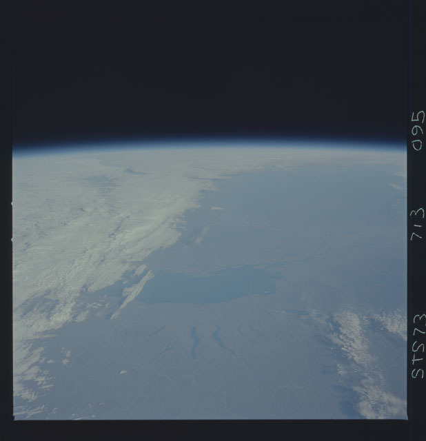STS073-713-095 - STS-073 - Earth observations taken from shuttle orbiter Columbia