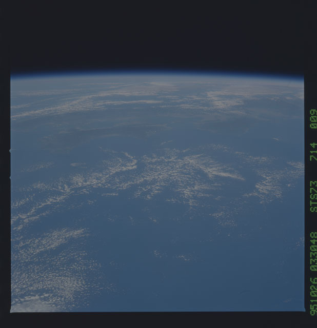 STS073-714-009 - STS-073 - Earth observations taken from shuttle orbiter Columbia