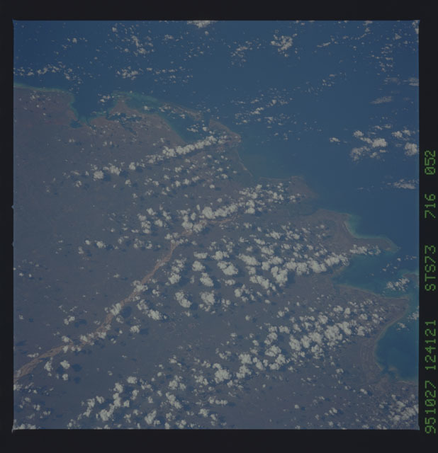 STS073-716-052 - STS-073 - Earth observations taken from shuttle orbiter Columbia