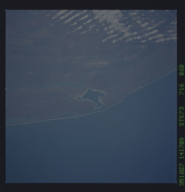 STS073-716-068 - STS-073 - Earth observations taken from shuttle orbiter Columbia