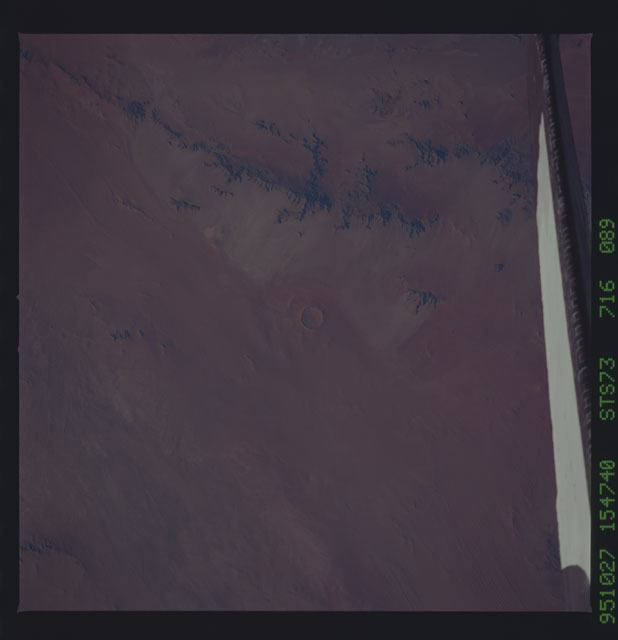 STS073-716-089 - STS-073 - Earth observations taken from shuttle orbiter Columbia