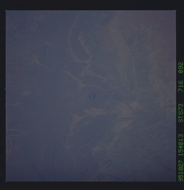 STS073-716-092 - STS-073 - Earth observations taken from shuttle orbiter Columbia