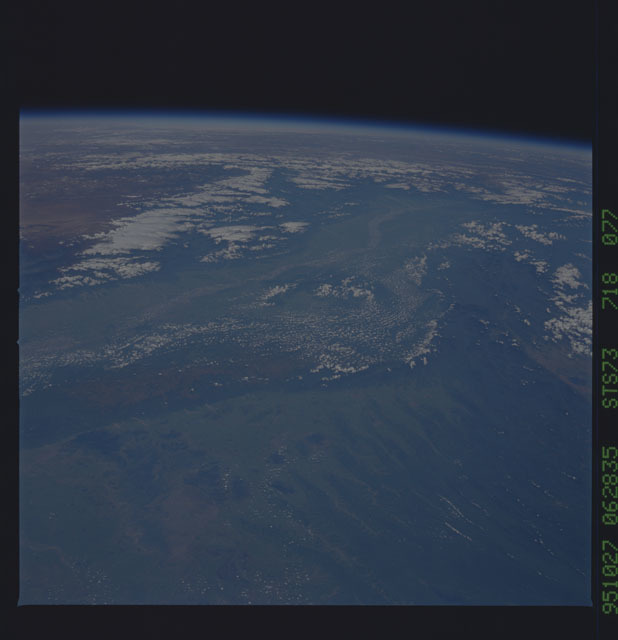 STS073-718-077 - STS-073 - Earth observations taken from shuttle orbiter Columbia