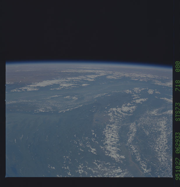 STS073-718-080 - STS-073 - Earth observations taken from shuttle orbiter Columbia