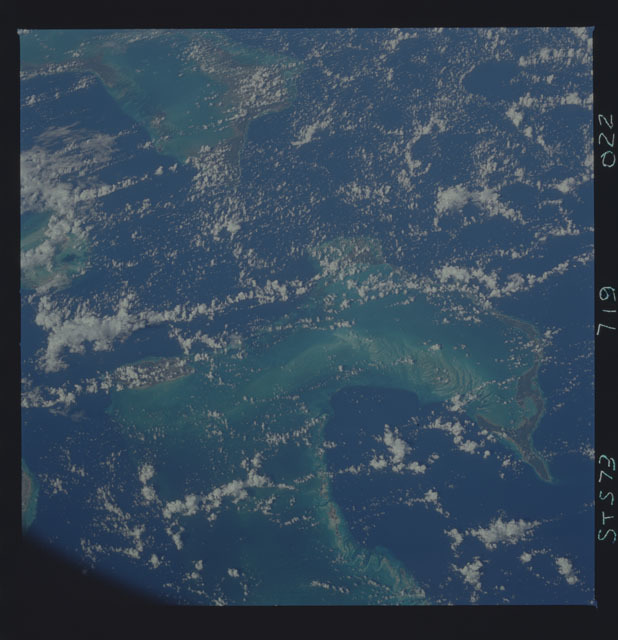 STS073-719-022 - STS-073 - Earth observations taken from shuttle orbiter Columbia