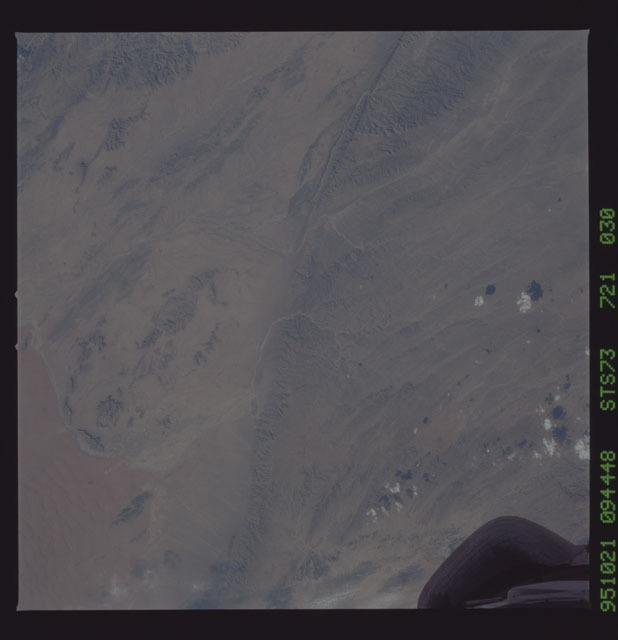 STS073-721-030 - STS-073 - Earth observations taken from shuttle orbiter Columbia