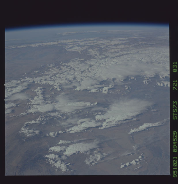 STS073-721-031 - STS-073 - Earth observations taken from shuttle orbiter Columbia