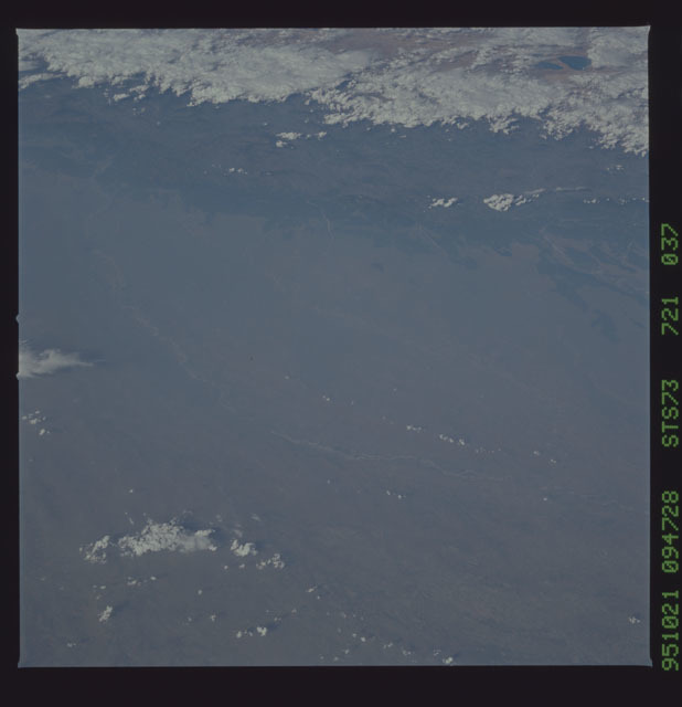 STS073-721-037 - STS-073 - Earth observations taken from shuttle orbiter Columbia