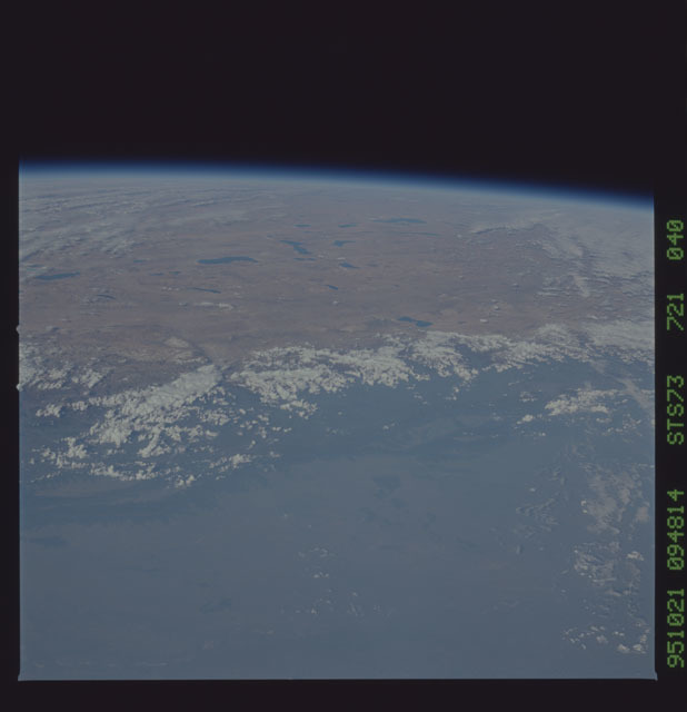 STS073-721-040 - STS-073 - Earth observations taken from shuttle orbiter Columbia