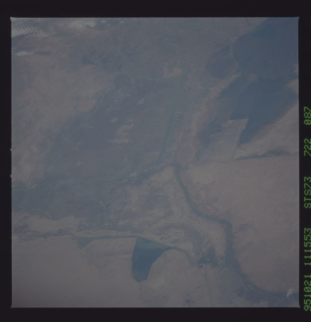 STS073-722-087 - STS-073 - Earth observations taken from shuttle orbiter Columbia