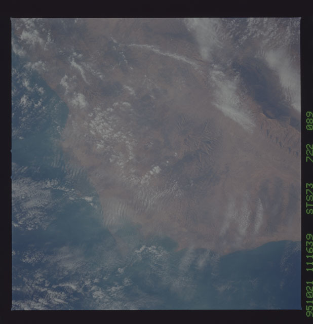 STS073-722-089 - STS-073 - Earth observations taken from shuttle orbiter Columbia