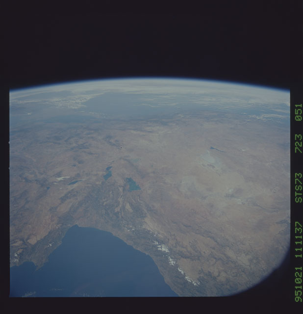 STS073-723-051 - STS-073 - Earth observations taken from shuttle orbiter Columbia