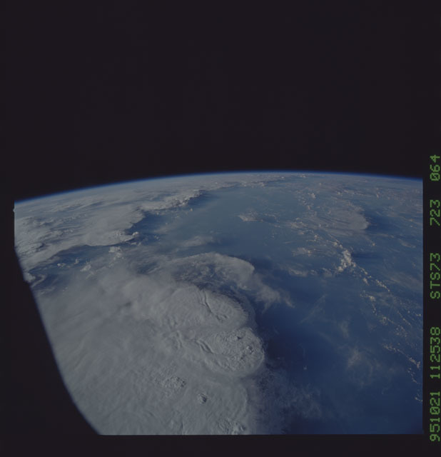 STS073-723-064 - STS-073 - Earth observations taken from shuttle orbiter Columbia