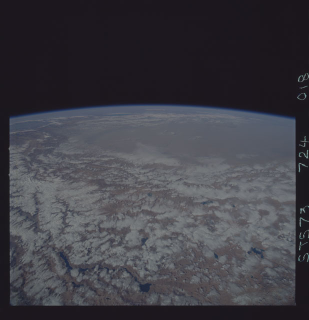 STS073-724-018 - STS-073 - Earth observations taken from shuttle orbiter Columbia