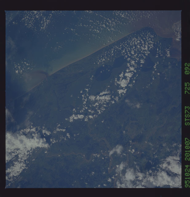 STS073-725-092 - STS-073 - Earth observations taken from shuttle orbiter Columbia