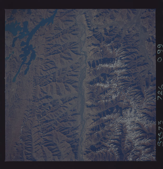 STS073-726-099 - STS-073 - Earth observations taken from shuttle orbiter Columbia
