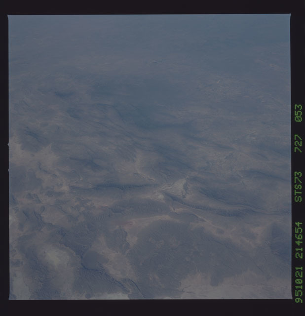 STS073-727-053 - STS-073 - Earth observations taken from shuttle orbiter Columbia