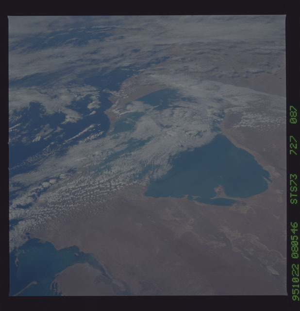 STS073-727-087 - STS-073 - Earth observations taken from shuttle orbiter Columbia
