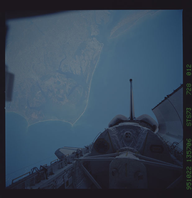STS073-728-012 - STS-073 - Earth observations taken from shuttle orbiter Columbia