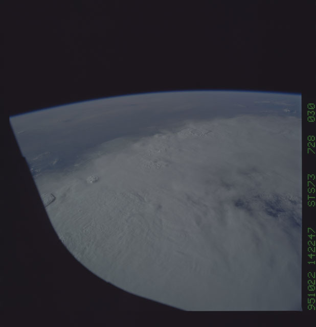 STS073-728-030 - STS-073 - Earth observations taken from shuttle orbiter Columbia