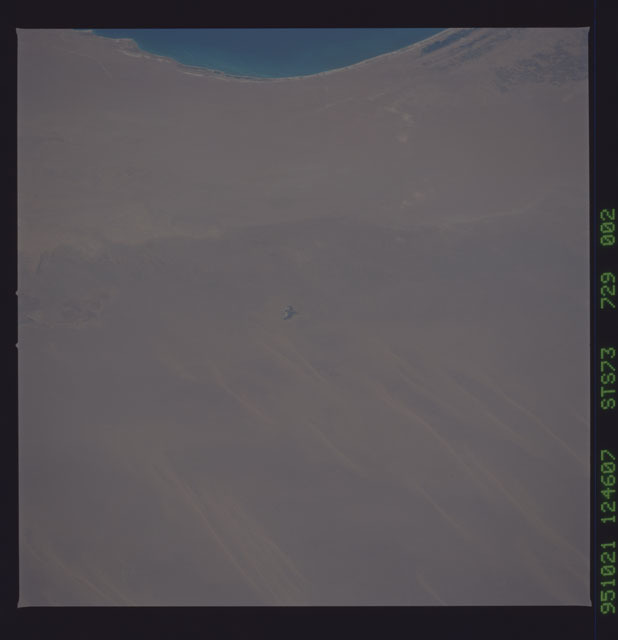 STS073-729-002 - STS-073 - Earth observations taken from shuttle orbiter Columbia