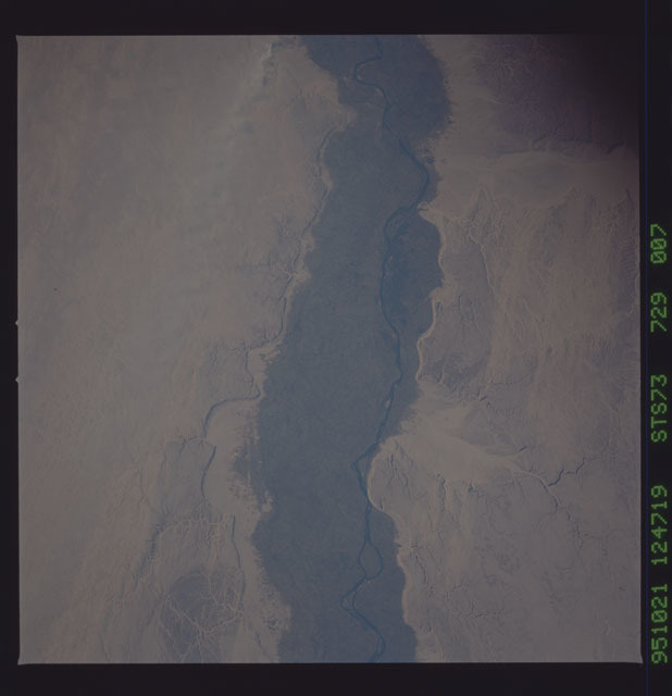 STS073-729-007 - STS-073 - Earth observations taken from shuttle orbiter Columbia