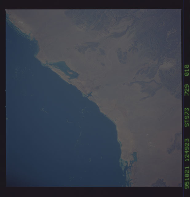STS073-729-018 - STS-073 - Earth observations taken from shuttle orbiter Columbia