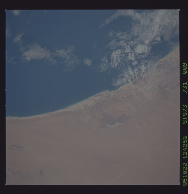 STS073-731-009 - STS-073 - Earth observations taken from shuttle orbiter Columbia